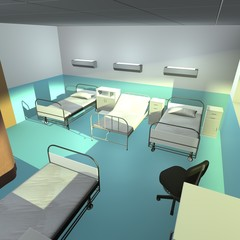 hospital room