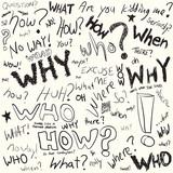 Question Doodles poster