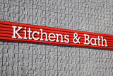 Kitchen and Bath Signage poster