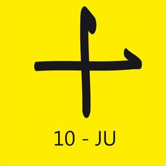 Dieci Giapponesse - JU