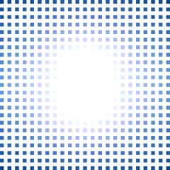 Light on blue dots