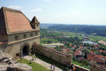 il villaggio di Feldbach e la fortezza