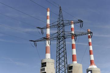 Industrie Kraftwerk Strom Energie