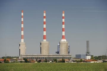 Schornstein Industrie Kamin Drilling