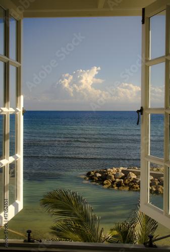 Fototapeta Looking at the Ocean