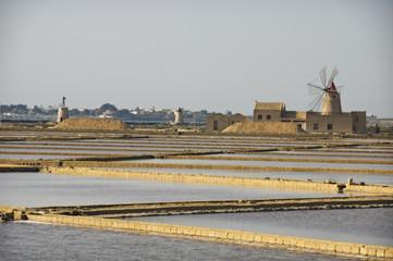 saltworks in sicily