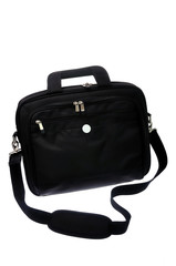 Bag for laptop on white backgorund