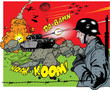 Comic book - war