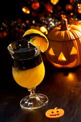 Halloween drinks - Rotten Pumpkin Cocktail