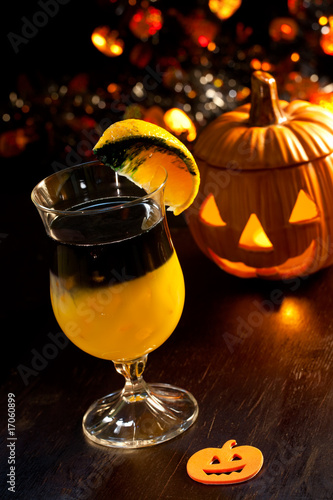 Halloween drinks - Rotten Pumpkin Cocktail
