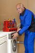Reparatur einer Waschmaschine