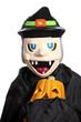 halloween maschera e zucca