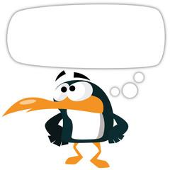 Pingouin pense
