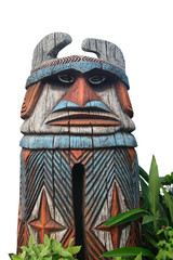 Tiki-Statue
