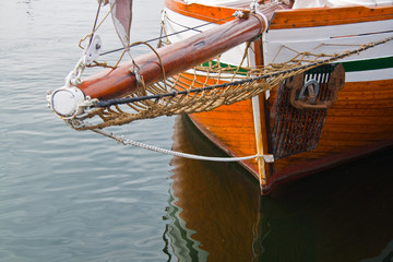 Ship's bowsprit