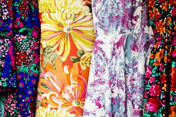 Flowery dresses