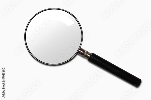 Leinwandbild Motiv Magnifying glass