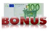 100 euro bonus € poster