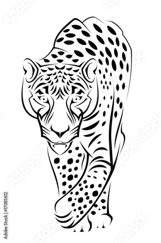 Jaguar on Jaguar De Seamartini Graphics  Vector Libre De Derechos  17085612 En