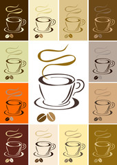 coffee cup. vector