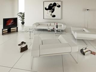 Zimmer in Weiss