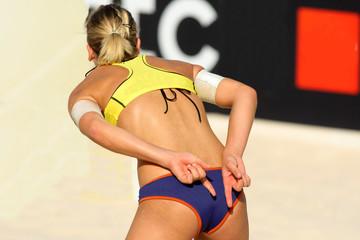 Voleibol playa. Estrategia
