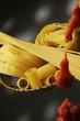 Pummarola con pasta cruda