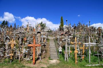 Berg der Kreuze bei Siauliai (Litauen)