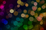 Abstract Background Bokeh poster