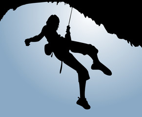 Women climb