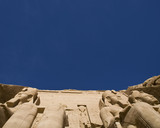 the temple at abu simbel