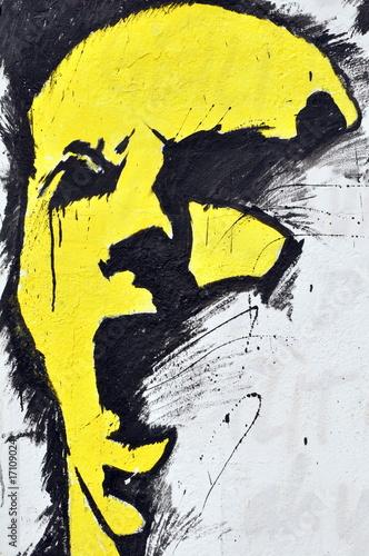délire jaune © rachid amrous