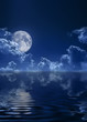 night full moon