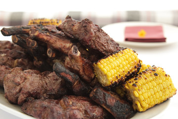 meat and corn
