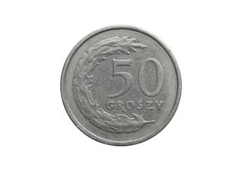 pięćdziesiąt groszy polskich