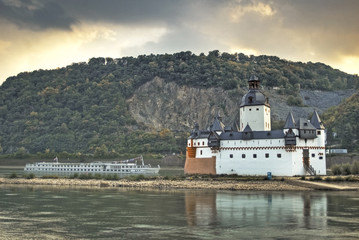 Kaub Burg Pfalzgrefenstein