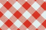 Closeup of table cloth