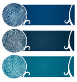 Water Swirls Banner Too