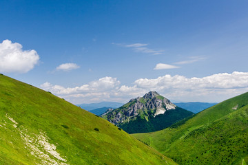 "Stony peak ""Big Rozsutec"" in Little Fatra hills - Slovakia"
