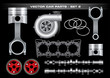 Vector Car Parts-Set 2 - 17123432