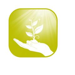 Icon Hand Plant