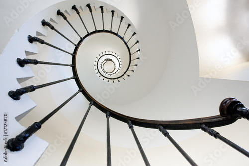 lighthouse staircase fototapeten architektur. Black Bedroom Furniture Sets. Home Design Ideas