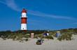Leuchturm am Strand