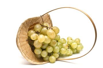 Canasta de uvas.