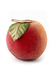 Artificial peach isolated over white