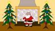 Weihnachtsgruss auf französisch