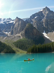 Gletschersee in Kanada