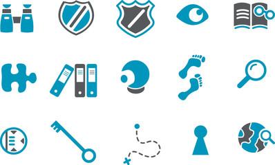 Investigation Icon Set