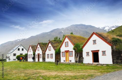 Leinwandbild Motiv Akureyri