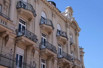 Fassade eines Gründerzeit-Hauses